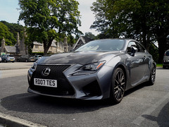 Photo of Lexus RC-F Front end