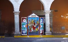 Kiosko (Gaby Fil Φ) Tags: ayacucho departamentoayacucho perú sudamérica plazadearmasdeayacucho kioskos retablos ventadediarios andino andes sierraperuana colores tradiciones