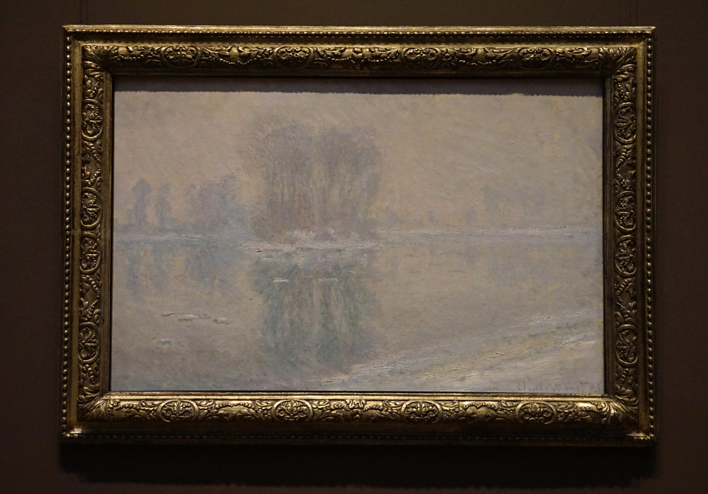 Ice Floes (1893) By Claude Monet   Metropolitan Museum Of Art, NYC (