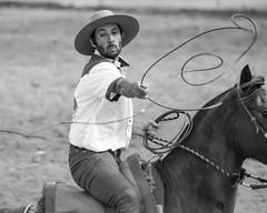 No capricho (Ars Clicandi) Tags: brazil brasil parana jaboti prova do laço comprido peao peão boiadero boiadeiro cowboy paraná br bp pb branco preto bw black white