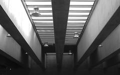 Museo La Moneda, Santiago de Chile (Mario Rivera Cayupi) Tags: bw blanconegro museo museum simetría simetric building santiagodechile blackandwhite