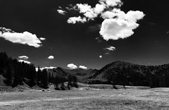 A sunny day in B&W / Lac d'Allos / France (borisbschulz2009) Tags: parc mercantour