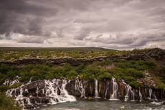 island1-152 (Peter Fuchs) Tags: island iceland vacation 2017 hraunfossar wasserfall waterfall sony a7r vario tessar 1635mm fe emount fullframe river water dramatic sky nisi filter system