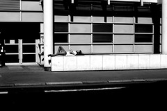 At the bed end (pascalcolin1) Tags: paris13 homme man endormi asleep lit bed lumière light ombre shadow photoderue streetview urbanarte noiretblanc blackandwhite photopascalcolin