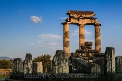 Delfos Delphi Delfoi (Iñigo Escalante) Tags: delfos delphi delfoi ancient sanctuary pythia oracle greek greece omphalos parnassus unesco world europe heritage site hellenic