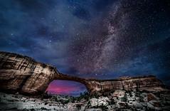 Natural Bridge (Greg Meyer MD(H)) Tags: stars things utah milkyway landscape naturalbridge nightscene owachomobridge ngc