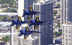 Blue Angels Over Chicago (rjseg1) Tags: blueangels airwater plane jet chicago