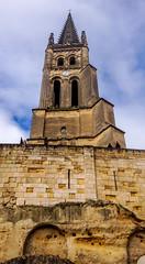 Eglise Collegialle, Saint-Emillion (William Orso) Tags: eglisecollégiale france saintémilion town