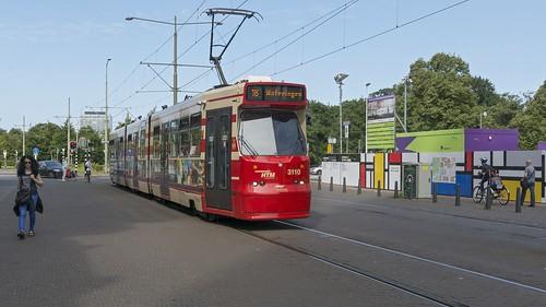 Den Haag Centraal HTM 3110 lijn 16 Wateringen