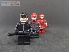Lego Marvel Netflix Daredevil (Season 1 Homemade Suit) Minifig MOC DTB041 (downtheblocks) Tags: daredevil netflix defenders minifig moc marvel superhero