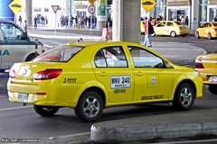 FAW V5 Taxi - Bogotá Airport, Colombia (RiveraNotario) Tags: taxis taxi cars autos taxisdecolombia colombia bogotá bogota