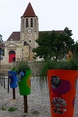 Paris 20ème Eglise Saint-Germain-de-Charonne (g.thevenot) Tags: paris insolite eglise