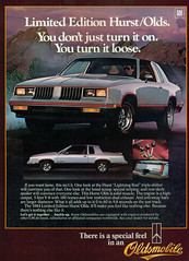 1984 Oldsmobile Hurst Olds (coconv) Tags: car cars vintage auto automobile vehicles vehicle autos photo photos photograph photographs automobiles antique picture pictures image images collectible old collectors classic ads ad advertisement postcard post card postcards advertising cards magazine flyer prestige brochure dealer 1984 oldsmobile hurst olds 84 muscle black silver 2 door hardtop coupe t top