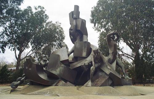 Royal Australian Navy Memorial, Anzac Parade, Canberra, ACT, Australia