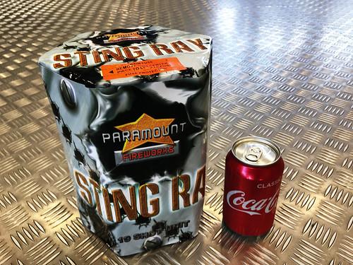 Sting Ray 19 Shot 1.3G Cake #EpicFireworks