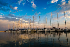 Marina Consorzio Porto di Alghero (Mariusz Hojda (k0g00t)) Tags: imagevall outdoor port sea water alghero sardiniaisland italy