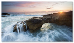"""Erosion"" (João Cruz Santos) Tags: seascape waterscape sunset longexposure water pnsc caboraso a6000 sel1018 ndgradreverse"