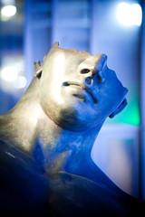 Art Instructor (Thomas Hawk) Tags: missouri stlouis usa unitedstates unitedstatesofamerica blue sculpture fav10
