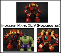 Hulkbuster (ver 2.0) (MrKjito) Tags: lego super hero comics comic marvel cinematic unvierse iron man tony stark mark xliv hulkbuster hulk ver 20 moc mod in scale age ultron infinity war
