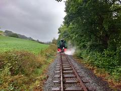 Approaching Llanfair (Tanllan) Tags: wllr welshpool llanfair light railway wales heritage tourist railroad steam train superb bagnall