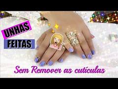Como Fazer as unhas Sem Tirar as Cuticulas (portalminas) Tags: como fazer unhas sem tirar cuticulas