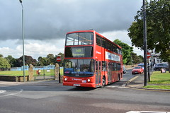 18208 - 601 Thamesmead (Gellico) Tags: stagecoach london dennis trident alx400 bus route 601 thamesmead dartford heath schools wilmington 18219 18208 17862 plumstead depot pd