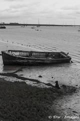 Orford Suffolk uk. B&W_wm (madmax557) Tags: orfordsuffolk suffolkcoast suffolk eastanglia eastcoast boats water watersedge blackwhite england