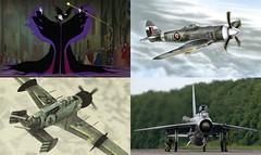 Unseelie inspo (Cagerrin) Tags: lego inspiration skyfi plane airplane maleficent crimsonskies brigand tempestmk2 eelightning