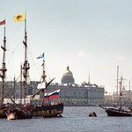 """Standart"" of Peter the Great on the Neva"
