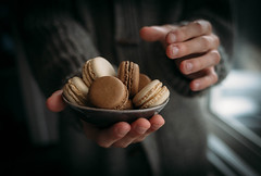 Sweet treats (V Photography and Art) Tags: sweet macaroons home living vsco offering chocolate vanila