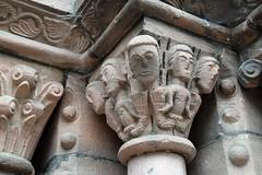Église Sainte Croix (pchgorman) Tags: alsace france kaysersberg églisesaintecroix buildings september churches sculptures
