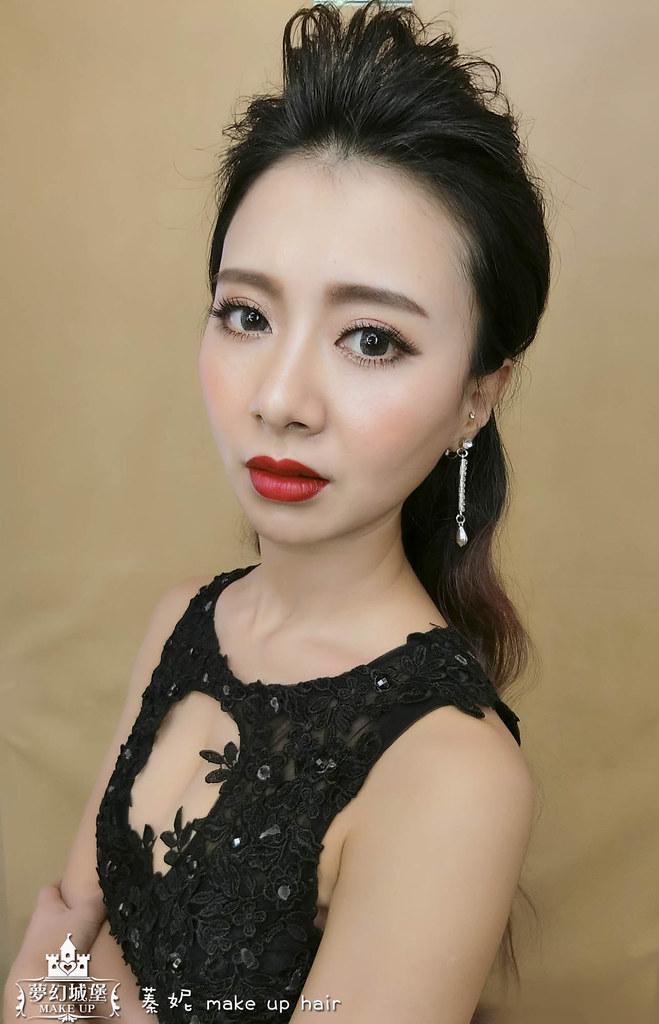 【新秘蓁妮】新娘造型創作 / 俐落率性風格