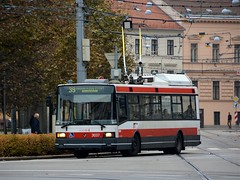 Brno, Joštova 21.10.2016 (The STB) Tags: brno öpnv citytransport publictransport urbantransport trolebús trolejbus trolleybus obus oberleitungsbus
