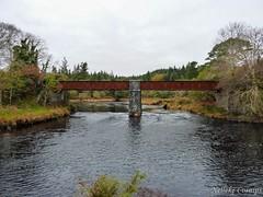 Ballynahinch (Nelleke C) Tags: 2016 ballynahinch bridge brug connemara countygalway holiday ierland ireland landscape landschap railway vakantie