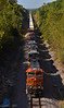 "Eastbound Intermodal in Richmond, MO (""Righteous"" Grant G.) Tags: bnsf railway railroad locomotive train trains east eastbound ge power intermodal missouri million dollar cut summit"