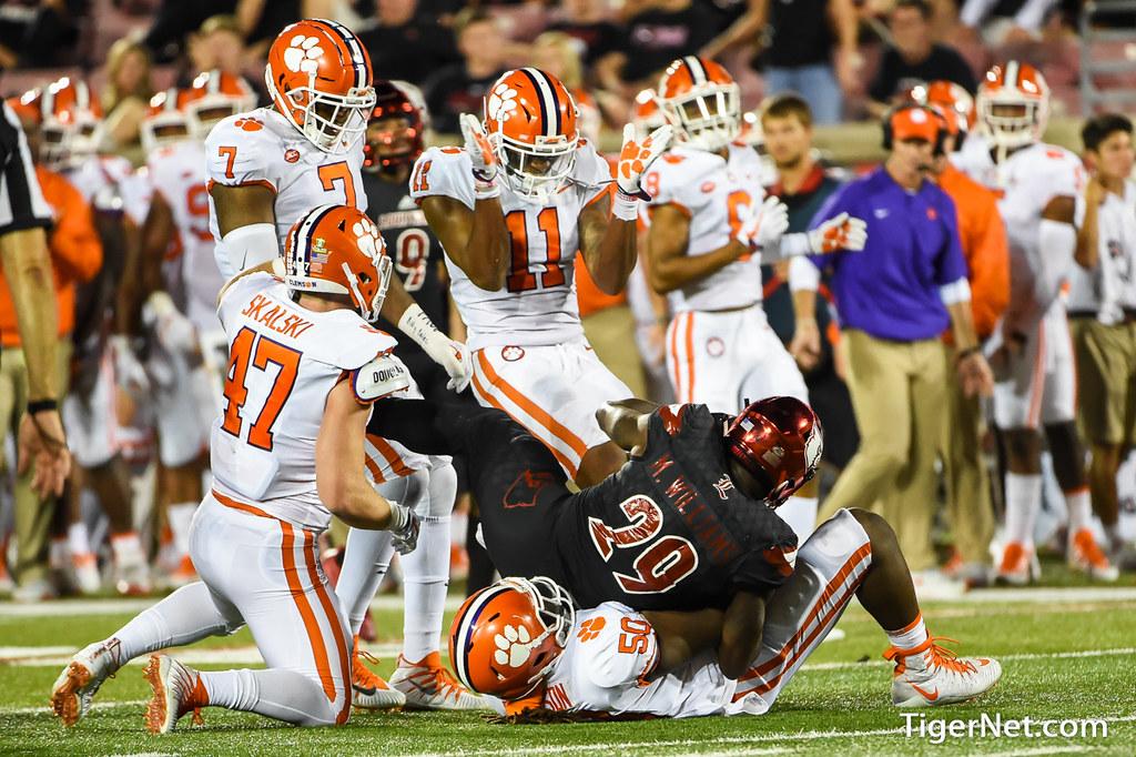 Clemson Photos: Jabril  Robinson, 2017, Football, Louisville