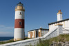 Clythness Lighthouse, Caithness, Scotland (David May) Tags: beacon maritime north sea warning stevenson lybster caithness midclyth