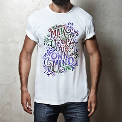 Mind_TS (D E S I G N - T) Tags: hipster model guy fashion fashionable stylish posing casual people trendy muscular masculine man macho sexy lifestyle look shirt t tshirt white blank clothing front design elegance clothes store mock up mockup square