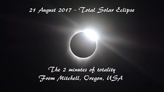 Totality Animated (re-upload) (Gwenael B) Tags: eclipse totale totality video 2017 solar timelapse animation nikon d5200 greatamericaneclipse usa oregon totalité eclipsesolaire solaire