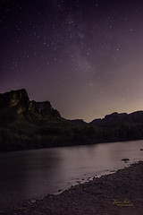 Milky way over the river (Justitia Omnibus) Tags: astrophotography arizona art amazingshot landscape nature canon canonphotos desert beach fave foto night nightphotography justgoshoot sky milkyway longexposure mountains outdoors photography stars perfectioninphotography arizonahighways purple light summer