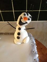 Olaf From Disney's Frozen (2013) Cake (Goatlips) Tags: olaf joshgad icing cake creation snowman snow disney frozen 2013 film movie birthday trauma monstrosity disturbing frightening party kids children