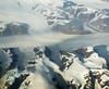 2017_09_13_lhr-lax_147z (dsearls) Tags: kongfrederikvikyst kingfrederickvicoast greenland semersooq 20170913 lhrlax united boeing787 dreamliner windowseat windowshot aerial flying blue ice snow arctic ocean northatlantic atlantic greenlandicesheet glacier glaciers fjord fjords icebergs mountains barren brown
