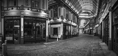 London Leadenhall Market_ (chabish123) Tags: london leadenhall market bw fuji xpro2 lightroom great place pano panorama