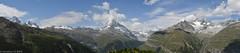 Le Cervin a perdu la tête, entouré de quelques sommets de plus de 4000 m ! The Matterhorn surrounded some summits of more than 4000 m! (Annelise LE BIAN) Tags: suisse zermatt montagnes panorama nwn coth coth5 alittlebeauty