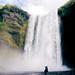to call a rainbow (. Wolfwendy) Tags: iceland foss waterfall rainbow wicca magic