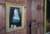Lady Margaret Beaufort, Countess of Richmond (Canadian Pacific) Tags: england britain great uk british english unitedkingdon hertfordshire hatfield house palace manor stately home al9 jacobean history 2016aimg1648 oil painting portrait wood panel panelling