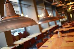 DSC_2363 (fdpdesign) Tags: pizzamaria pizzeria genova viacecchi foce italia italy design nikon d800 d200 furniture shopdesign industrial lampade arredo arredamento legno ferro abete tavoli sedie locali