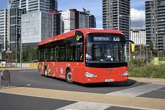Route 108, Stratford City (London Bus Breh) Tags: goahead goaheadgroup goaheadlondon londoncentral irizar irizari2e i2e electric electricbus electrictechnology electricvehicle ei ei1 yp15nlm 15reg london buses londonbuses bus londonbusesroute108 route108 stratford stratfordcity londonaquaticscentre poolstreet tfl transportforlondon