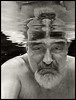 Me 2017 #56; Submerged (hamsiksa) Tags: people man male old oldman age aging aged wet submerged water underwater swimming pool swimmingpool availablelight ambientlight blackwhite portrait selfportrait florida centralflorida