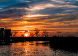 Sunset - Dutch Style